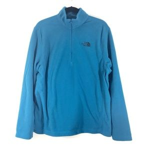 The North Face 1/4 Zip Pullover Fleece Mens
